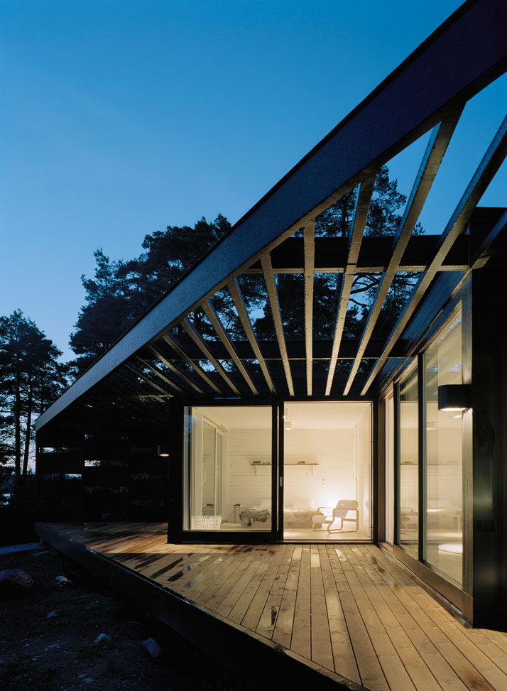 Archipelago House by Tham & Videgård Architects in Stockholm, Sweden (2)