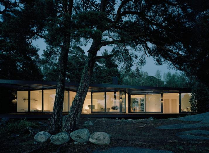 Archipelago House by Tham & Videgård Architects in Stockholm, Sweden (3)