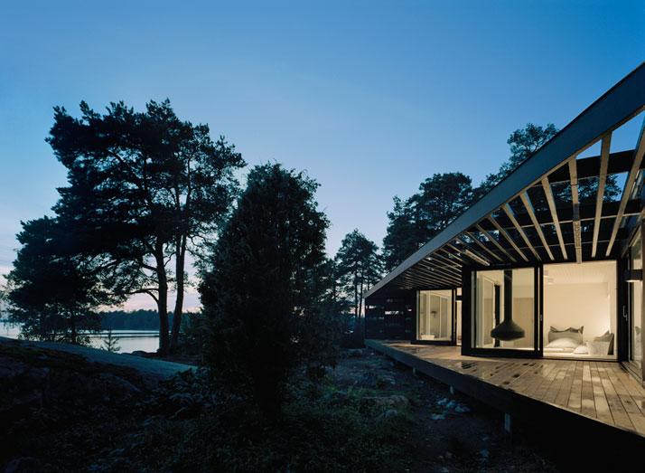 Archipelago House by Tham & Videgård Architects in Stockholm, Sweden (4)