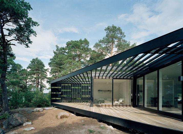 Archipelago House by Tham & Videgård Architects in Stockholm, Sweden (6)
