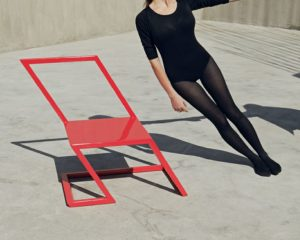 60 Red Chair by XYZ Integrated Architecture