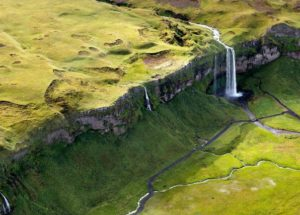 DREAMY AERIAL VIEWS OF ICELAND BY SARAH MARTINET