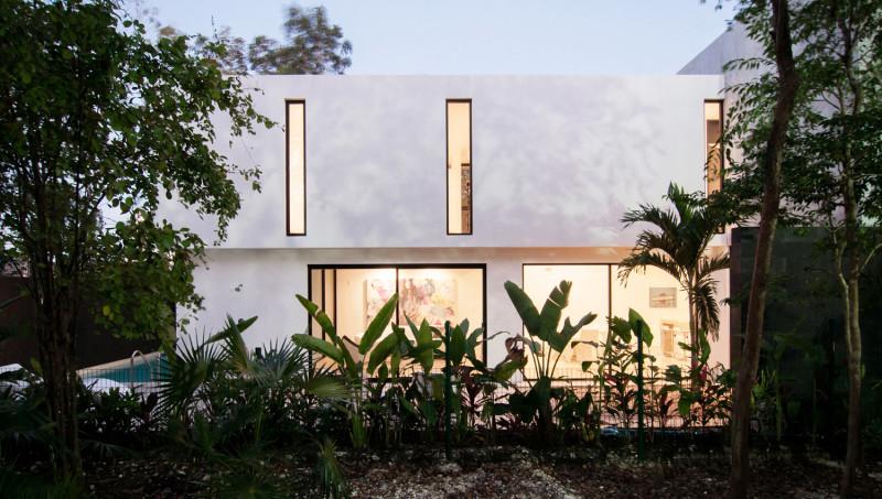 Casa Garcias By Warm Architects, Cancun, Mexico (1)