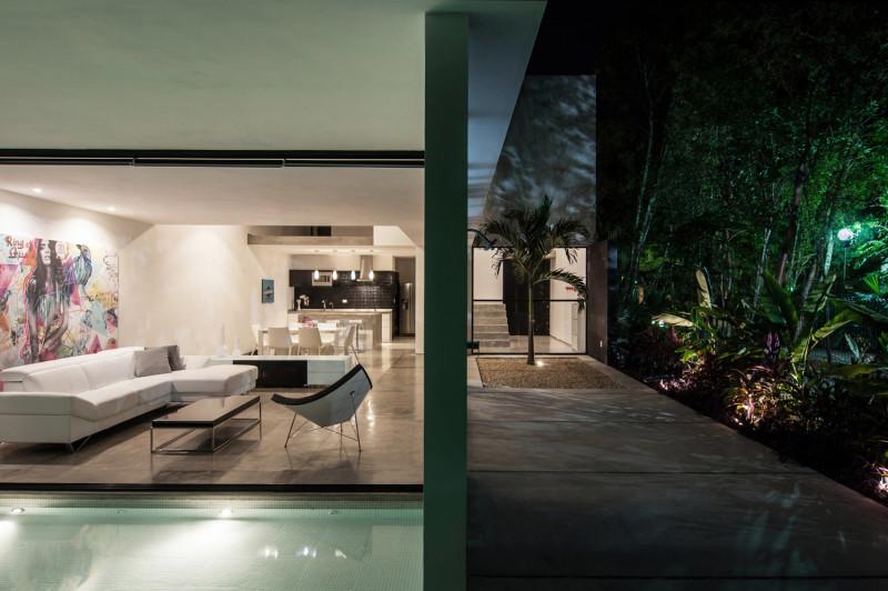 Casa Garcias By Warm Architects, Cancun, Mexico (3)