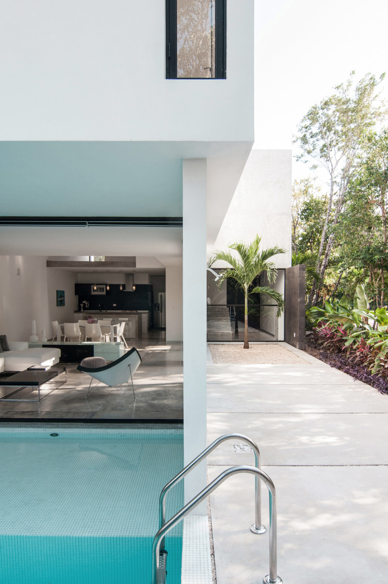 Casa Garcias By Warm Architects, Cancun, Mexico (5)