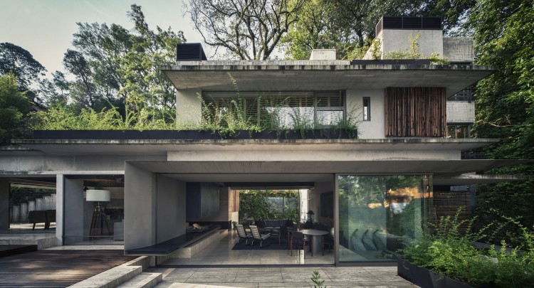 Holiday House Maza by CHK Arquitectura, Mexico (14)