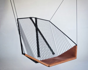 SOLO CELLO HANGING CHAIR BY FELIX GUYON