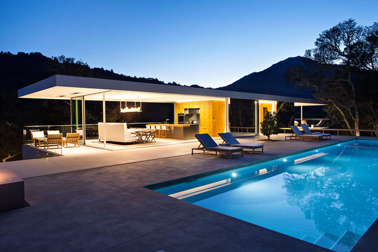 Turner Residence in California by Jensen Architects (12)