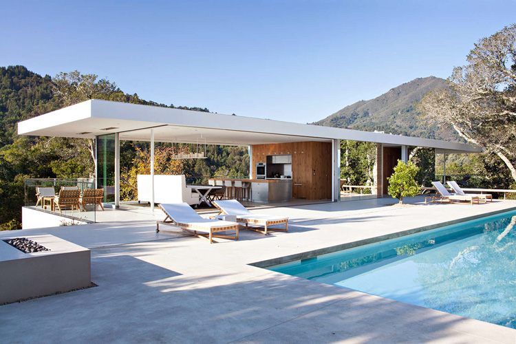 Turner Residence in California by Jensen Architects (4)