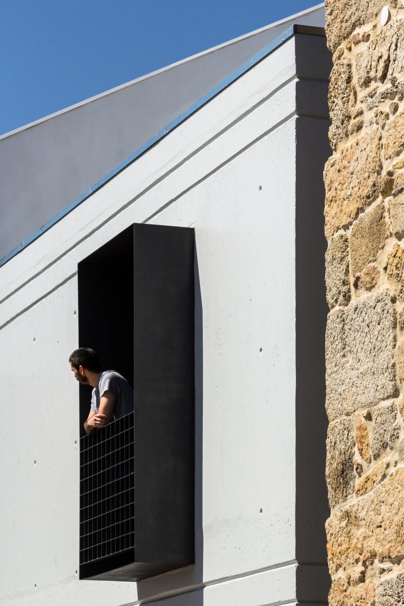 Project: House JA. Architects: Filipe Pina + Maria Ines Costa. Location: Guarda, Portugal. Photographs: Joao Morgado.
