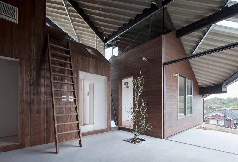 Rain Shelter House, Y+M Design Office, Yonago, Japan (1)