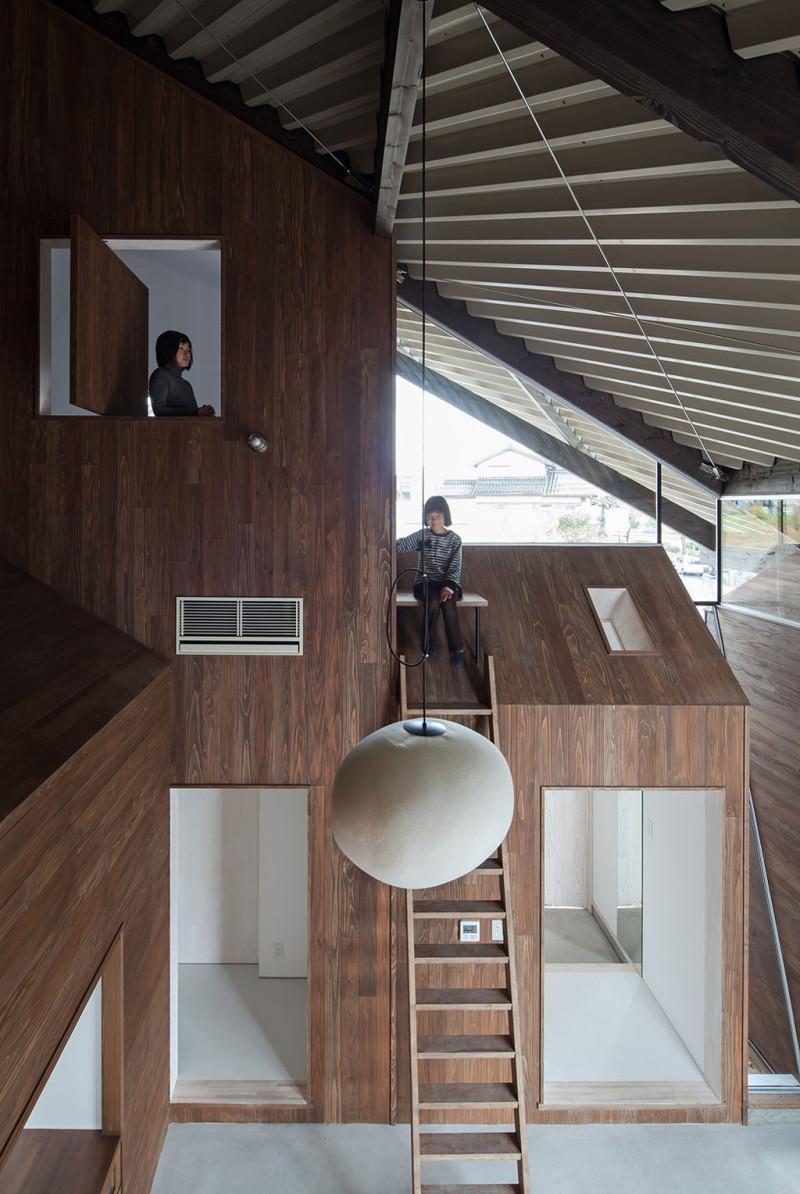Rain Shelter House, Y+M Design Office, Yonago, Japan (5)