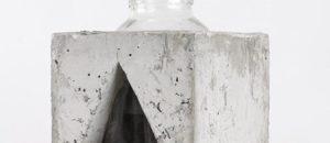 THE INVARIANTS: CONCRETE, WOOD & GLASS VASES BY MAKHNO STUDIO