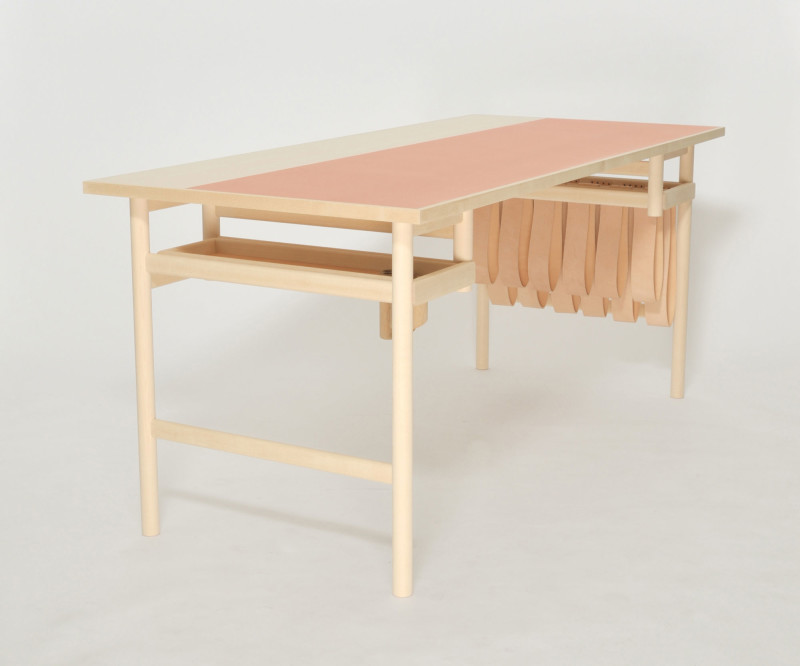 The Tonder Collection Oak writing desk by David Ericsson (2)