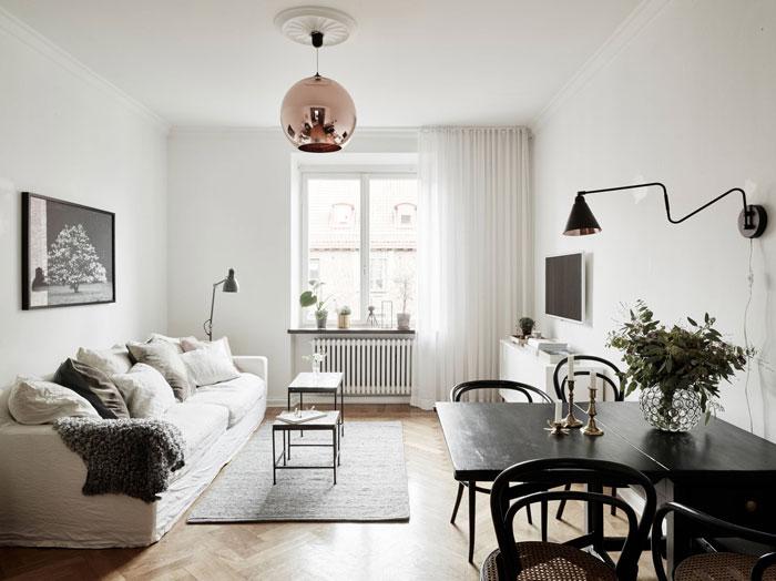 refined minimalist apartment in gothenburg, sweden (3)