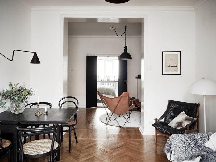 refined minimalist apartment in gothenburg, sweden (4)