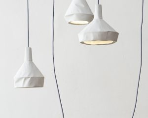 CONCRETE LIKE PAPER LAMP COLLECTION BY DUA