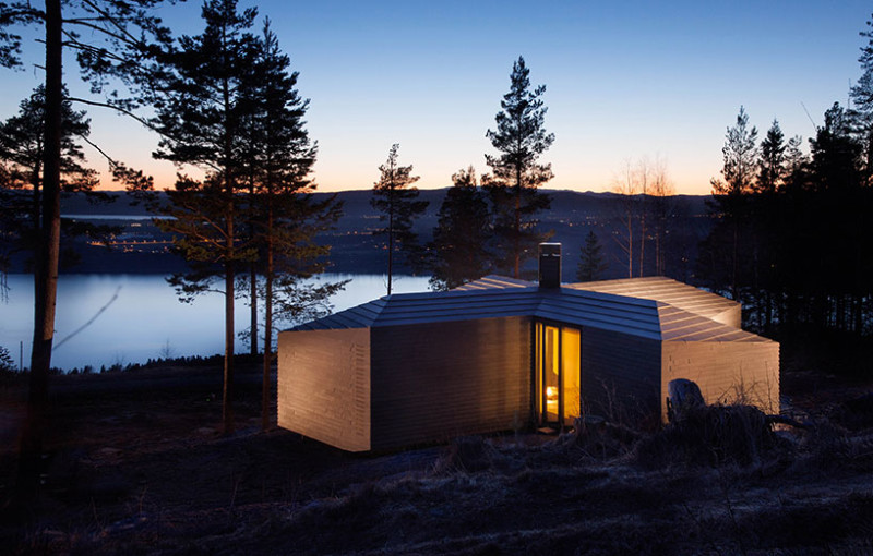 Wooden Cabin by Atelier Oslo, Norway