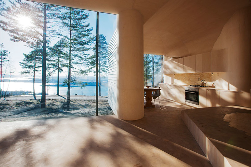 Norwegian Wooden Cabin Norderhov by Atelier Oslo (5)