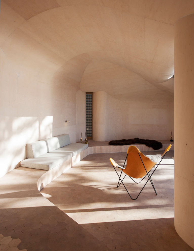 Norwegian Wooden Cabin Norderhov by Atelier Oslo (7)