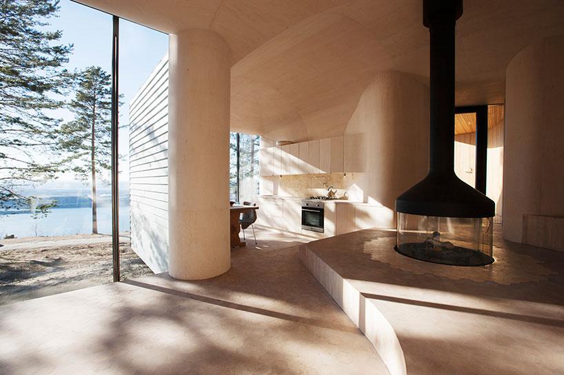 Norwegian Wooden Cabin Norderhov by Atelier Oslo (8)