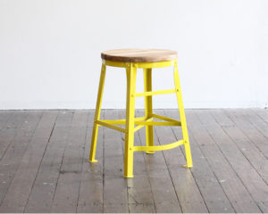 COLORFUL SCAFFOLD STOOLS BY WALK THE PLANK
