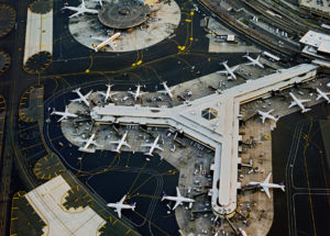 AERIAL PHOTOGRAPHIC SERIES OF AIRPORTS BY JEFFREY MILSTEIN