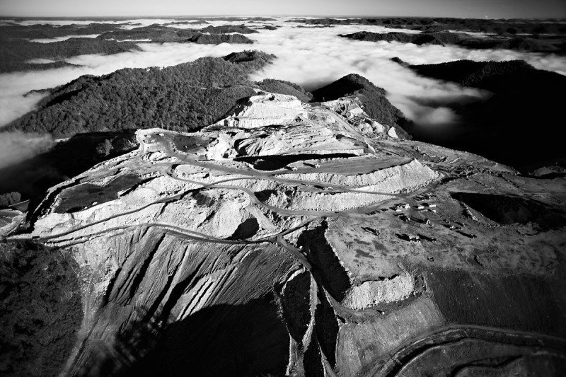 Aerials of Mountain Top Removal in Appalachia By Cameron Davidson (2)