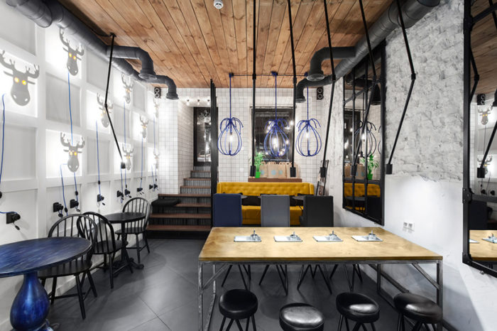 The Blue Cup Coffee Shop By Kley Design Studio Kiev Ukraine (10)