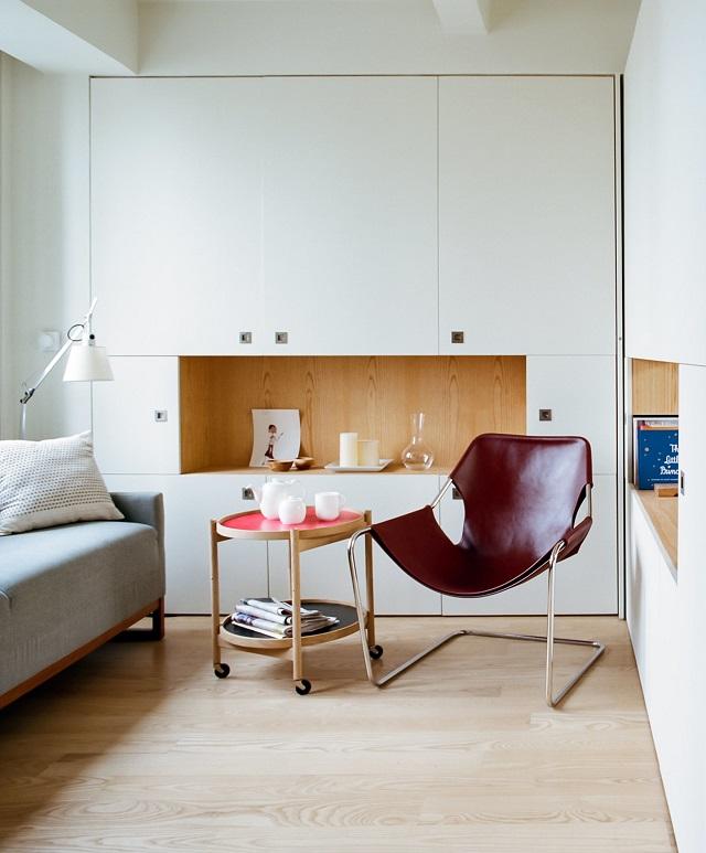 Manhattan apartment by architecture workshop design visual - The wonder loft a visual experiment in manhattan ...
