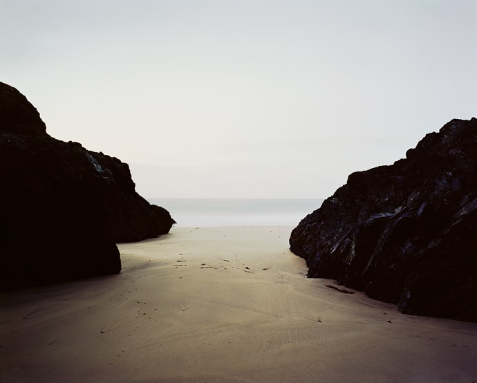 Cornwall Landscapes Photographer Guy Sargent dark beaches