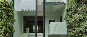 Giant Glass Doors Designed For Antwerp Townhouse