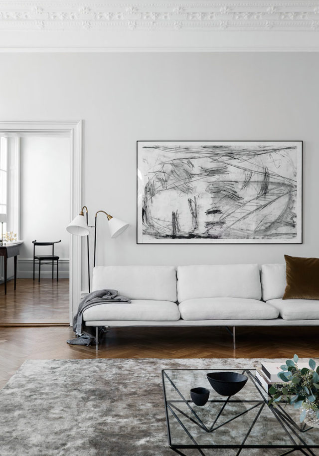 Swedish minimalist interior by liljencrantz design for Minimalist design inspiration