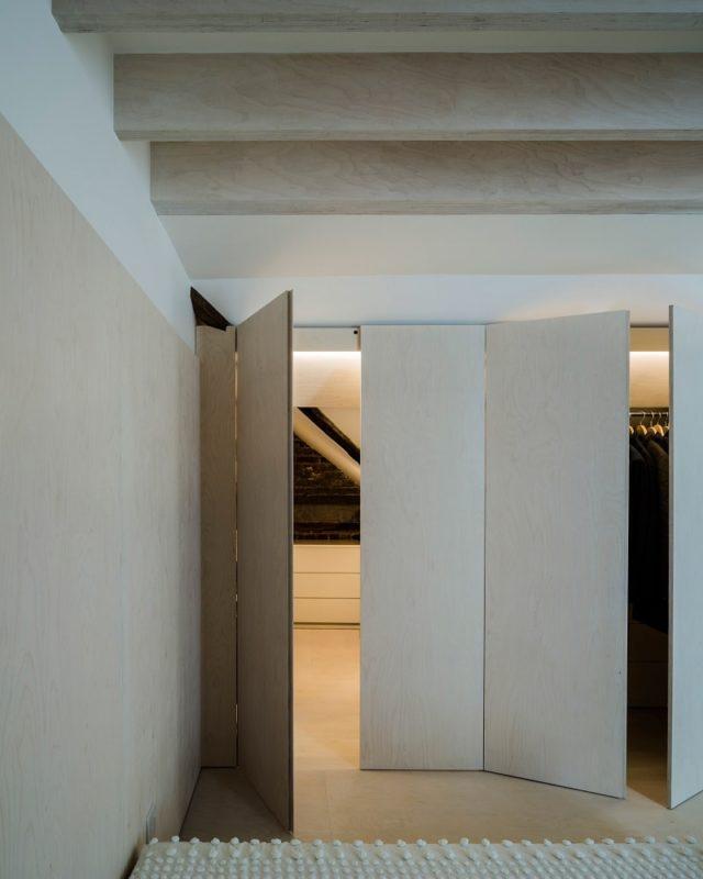 Minimalist Plywood Interior