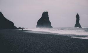 Reynisdrangar Rock Formations & Reynisfjara Black Sand Beach