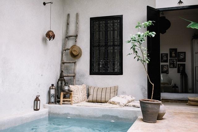 Riad La Maison Interior Marrakech
