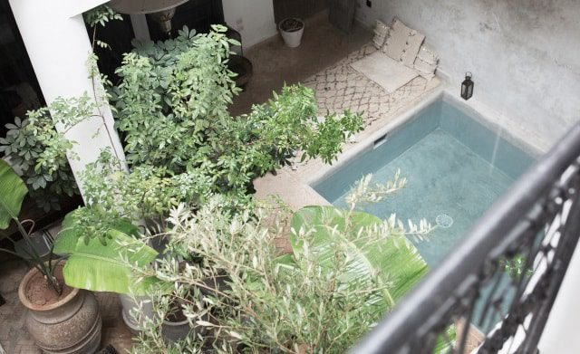 Riad La Maison Marrakech Swimming Pool and Garden, Morocco
