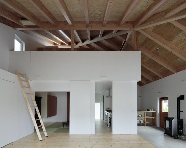 Wooden House By Ikeda Yukie Architects, Japan