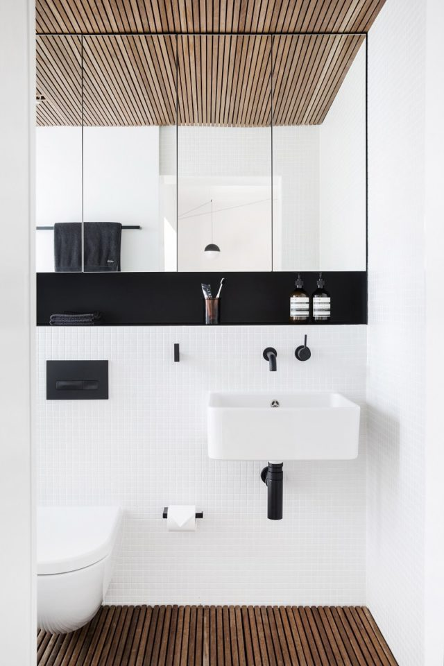 Bathroom Interior Design. Studio Apartment By Architect Prineas, Sydney, Australia