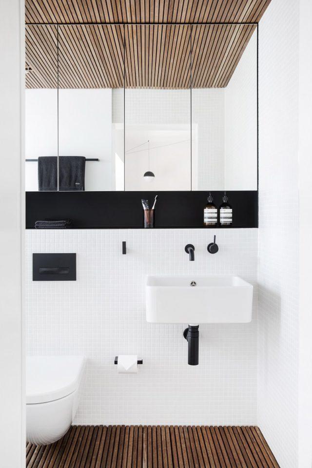 Bathroom Interior Design. Studio Apartment By Architect Prineas, Sydney, Australia