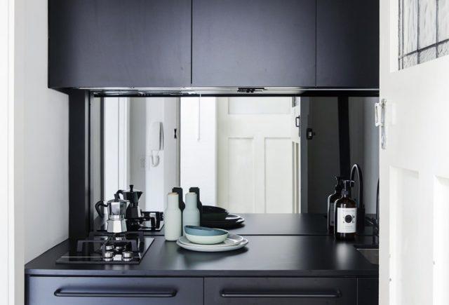 Kitchen Interior Design. Studio Apartment By Architect Prineas, Sydney, Australia