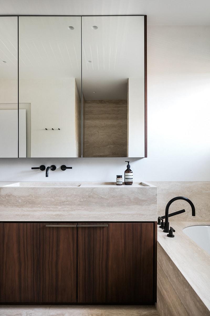 BC House Bathroom Interior - Dieter Vander Velpen, Leuven, Belgium