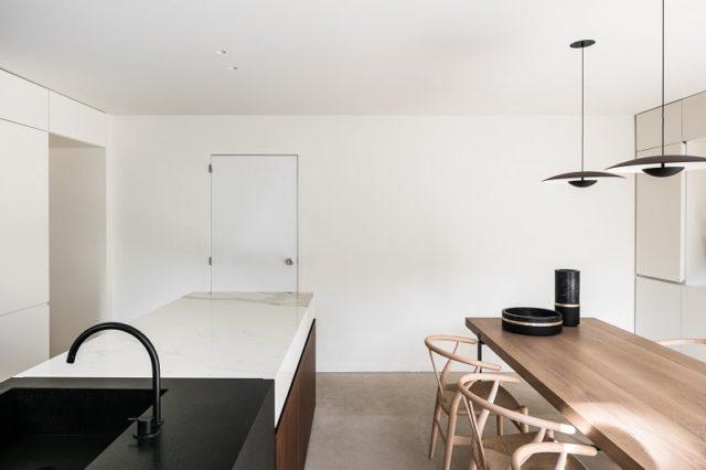 BC House Kitchen Interior Hans Wegner Chairs - Dieter Vander Velpen