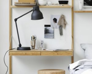 IKEA SVALNAS Shelf With Storage