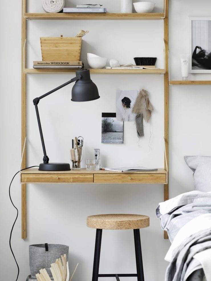 IKEA SVALNAS Shelf With Storage - Pella Hedeby Styling