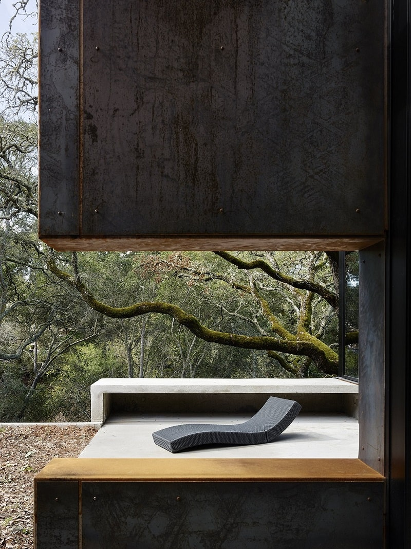 Architect Greg Faulkner Cor-Ten Steel House Orinda, California
