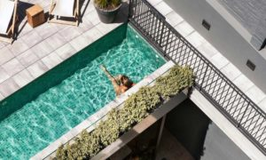 Tropical Modernism: Boutique Hotel Brummell Barcelona
