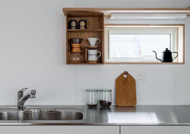 Kitchen Interior Design Minimalist Wooden Home by SNARK+OUVI in Chiba, Japan