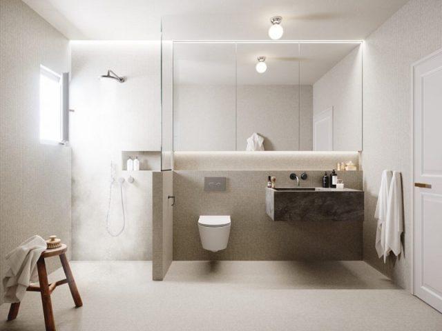 Impremta Garden Palma Mallorca Bathroom Scandinavian Functionalism