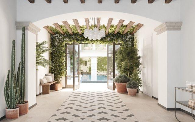 Impremta Garden Palma Mallorca Entrance